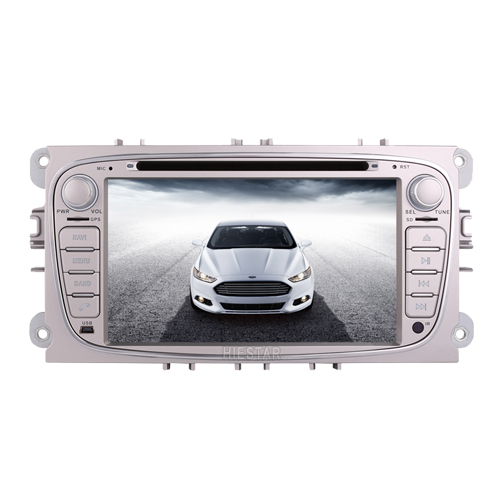 FORD FOCUS /MONDEO /S-MAX/CONNECT 2008 2009 2010 2011 Car DVD GPS Player Android 7.1/6.0 7'' Capacitive Touch Screen RDS DVR WIFI