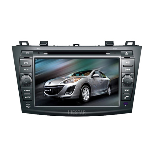 MAZDA 3 2010 Bluetooth Auto Car GPS Radio Player DVD 1024*600 Mutli-Touch Screen 8'' Android 7.1/6.0 8 core band All in one