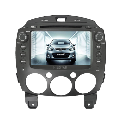 MAZDA 2 Jinxiang DE Third generation 2007 Aux In Bluetooth Car DVD Player GPS Steering Wheel Control HD 1024 Touch Screen 8'' Android