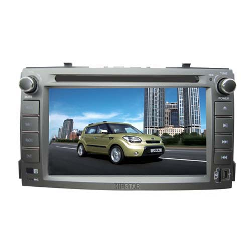 7''Touch Screen Car GPS DVD For KIA SOUL With GPS Navigation /USB/TF Slot Bluetooth FM Radio Free Map Wince 6.0