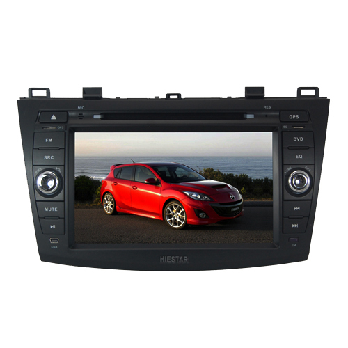 Mazda 3 2010 Special Car GPS New Car DVD player with GPS Navigation Canbus BT RDS TF/USB/ Slot Video Audio Wince 6.0