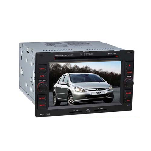 Old Peugeot 307 Car DVD Player GPS Navigation Radio TV Bluetooth Touch Screen Bluetooth Games Wince 6.0